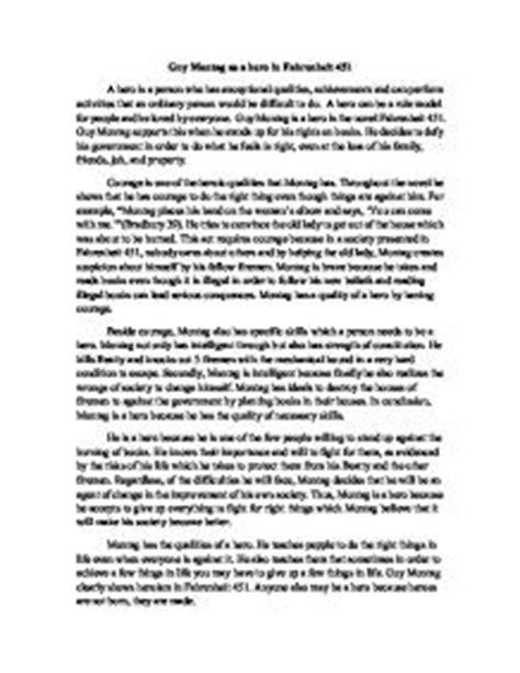 Fahrenheit 451 Essay by Montag From Fahrenheit 451 Quotes Quotesgram