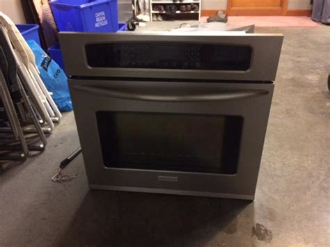 warming drawer on oven frigidaire 30 quot electric wall oven with warming drawer west