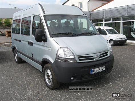 2008 nissan interstar combi 9 seater premium car photo
