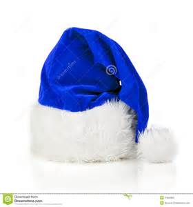 blue santa claus hat stock photo image of occasion xmas