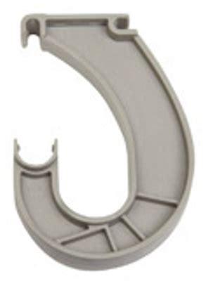 Closetmaid Parts Closetmaid Superslide Rod Support White 562900