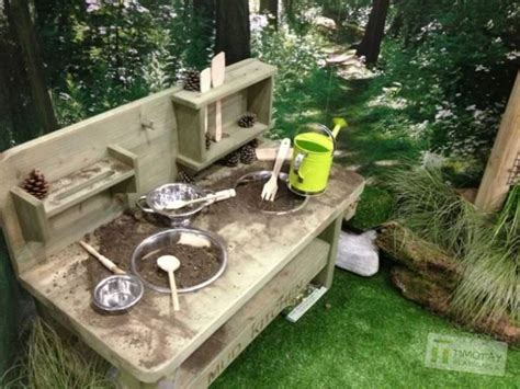 How To Build A Mudd Station Top 20 Of Mud Kitchen Ideas For Kids Garden Ideas 1001