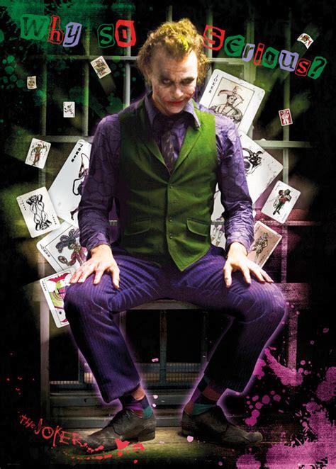 Heath Ledgers Joker Poster Was A by Batman The Joker Poster Sold At
