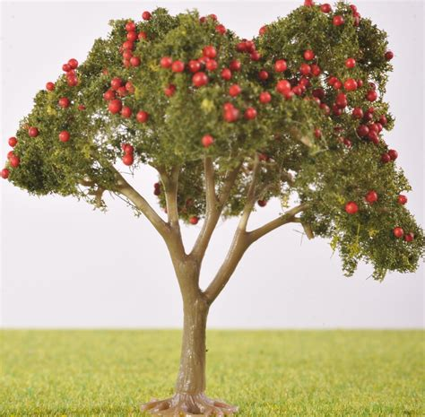 fruit trees pl25103 80mm fruit tree with fruit the model tree shop
