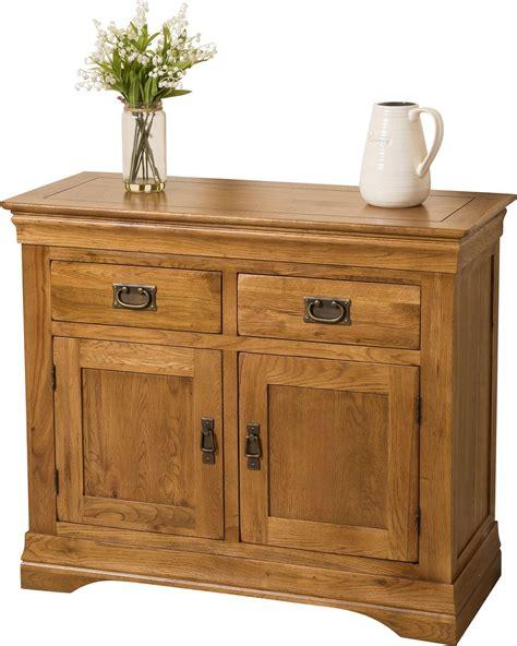 french chateau small oak sideboard modern furniture direct