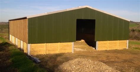 West Steel Sheds by Steel Frame Buildings From South West Steel