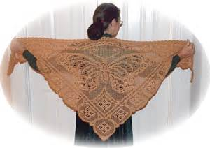 Filet Crochet Shawl Pattern » Home Design 2017