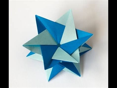 Of David Origami - how to make an origami of david
