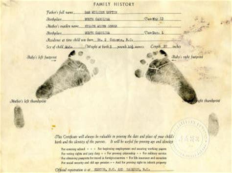 Hospital Birth Record Curtis Dean Loftin