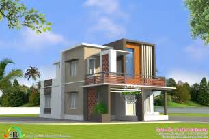 27 Sq Meters In Feet low cost double floor home plan kerala home design and