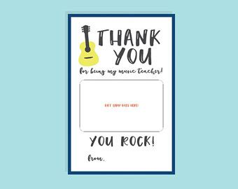 printable thank you card for music teacher easter basket scavenger hunt kit includes a map eggs