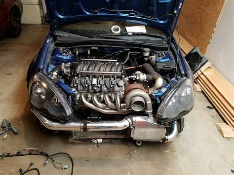 Honda V8 by Check Out This V8 Swapped Rsx Wait What Honda Tech
