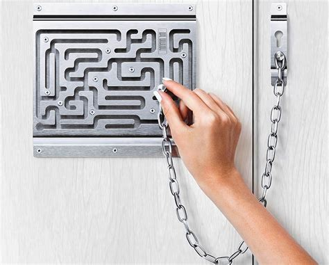 Chain Lock On Door by How To Open A Door Chain Lock Or Bar Latch From The