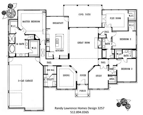 floor plan for homes floor plans randy lawrence homes