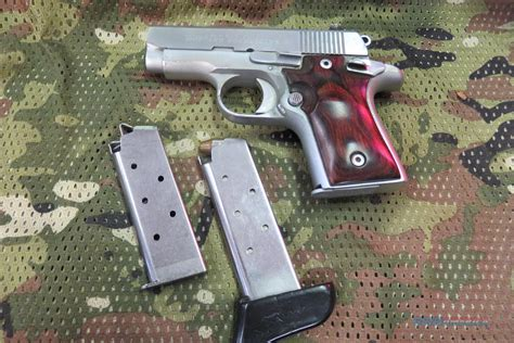 custom colt mustang colt mustang pocketlite stainless 380 custom for sale