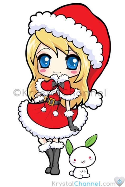 anime chibi navidad lovelysweetgirl navidad chibi