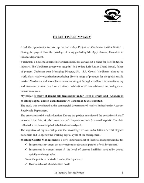 Working Capital Loan Application Letter working capital loan application letter 28 images