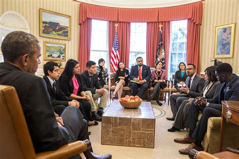 obama in the office president obama meets with dreamers in the oval office