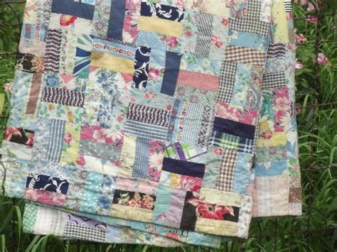 bohemian vintage patchwork quilt all colors 30s 40s 50s