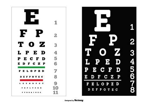 free test eye chart free vector 6620 free downloads