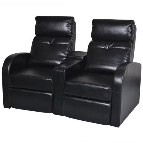 Artificial Leather Home Cinema Recliner Reclining Sofa 2 Cinema Recliner Sofa