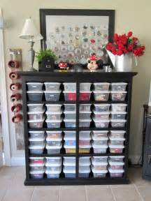 room organization ideas blukatkraft bead storage craft room ideas