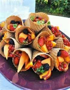 inside ice cream cones 30 tasty fruit platters for just