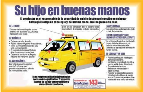 imagenes furgon escolar transporte escolar todos deben viajar con seguridad al