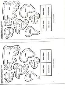 the seven continents worksheets abitlikethis