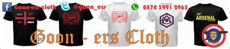 Kaos Arsenal Gunners Underground Putih goon ers kaos arsenal the herd putih