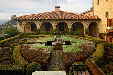 monastery garden monastery gardens pinterest