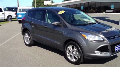 ford escape grey 2013 ford escape sel sterling gray youtube