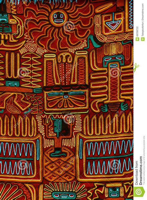 typical  style cloth pattern stock photo image