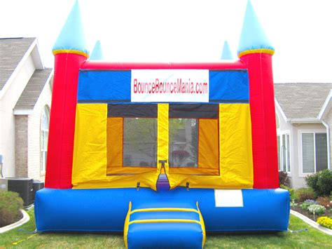bounce house pictures bounce house blue tops