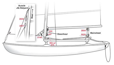 hobie 16 catamaran dimensions hobie cat 16 rigging