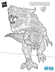 transformers coloring grimlock coloring pages hellokids