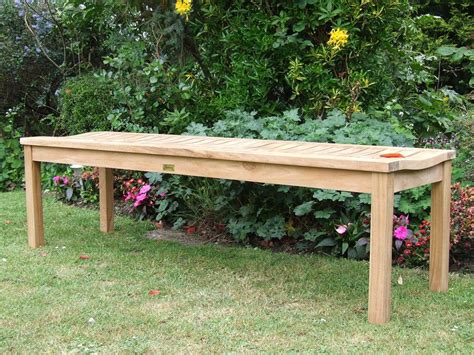 teak benches for gardens teak garden bench wave