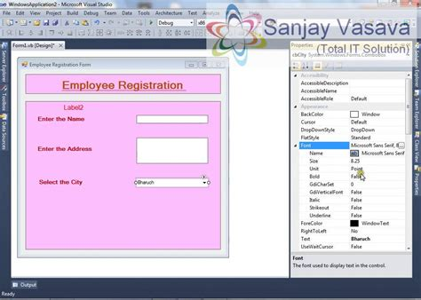 employee registration form how to create the employee registration form using the
