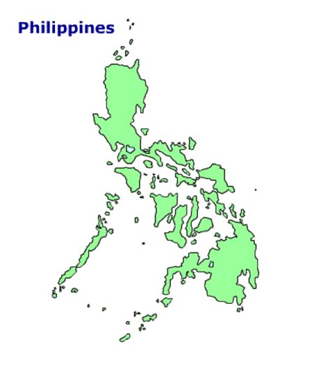 printable area traduccion map of philippines terrain area and outline maps of