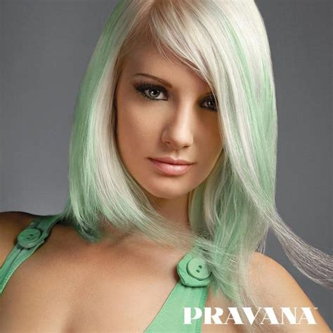 17 best images about green pravana mint green hair color 114 best images about chromasilk pastels on