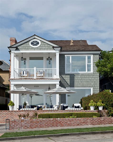 beach house exterior ideas beach house with classic coastal interiors home bunch