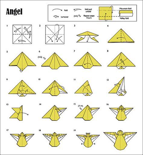 easy origami christmas tree printable instructions origami de natal anjo arte de fazer decora 231 227 o e