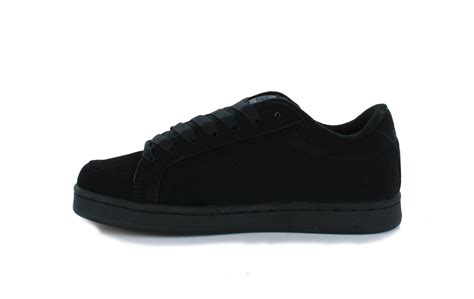etnies shoes etnies e kingpin mens skate trainers black black new shoes