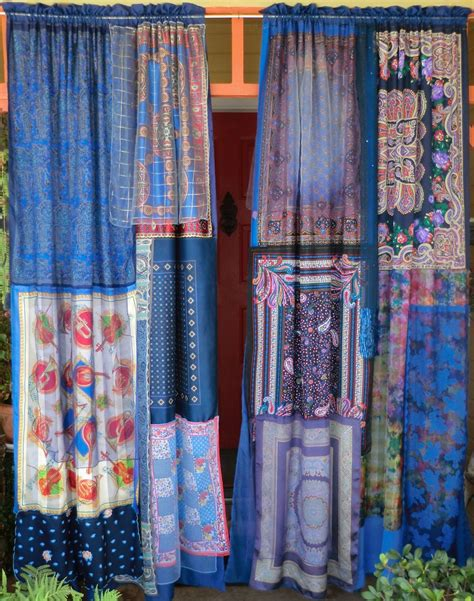 cortinas hippies midnight in paris handmade gypsy curtains cosas