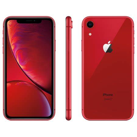 walmart family mobile apple iphone xr w 64gb walmart
