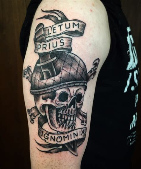 death before dishonor tattoo before dishonor at tattoos by paul nycz