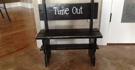 time out bench help for andi time out bench