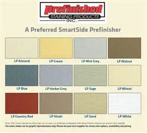 lp siding colors prefinished staining products inc standard colors