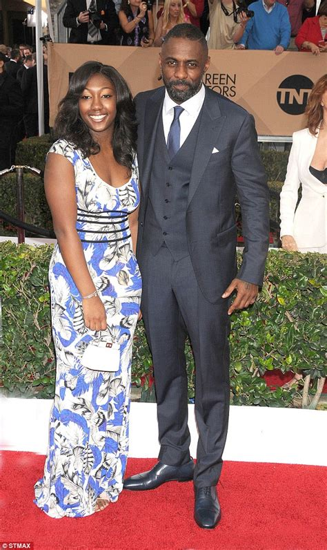 isan elba hanne norgaard idris elba has day out with son winston and fianc 233 e