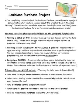 Louisiana Purchase Essay by Louisiana Purchase Worksheet Worksheets Releaseboard Free Printable Worksheets And Activities